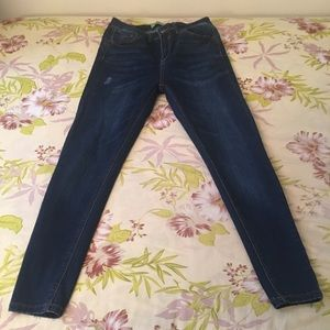 Wax Jean Dark wash jeans pants